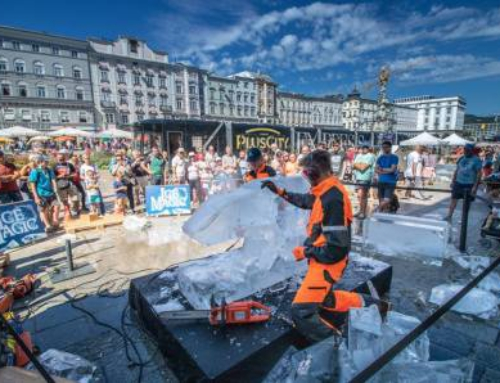 Ice Magic – Eisskulpturenzauber in Linz