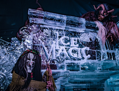 Perchtenlauf bei Ice Magic